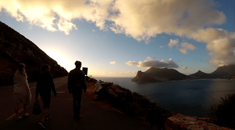 nic findlay cape town sunset