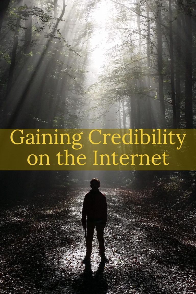secrets to gaining credibility on the internet nic findlay