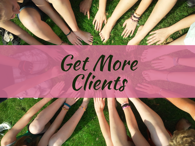 Get More Clients as a Small Business
